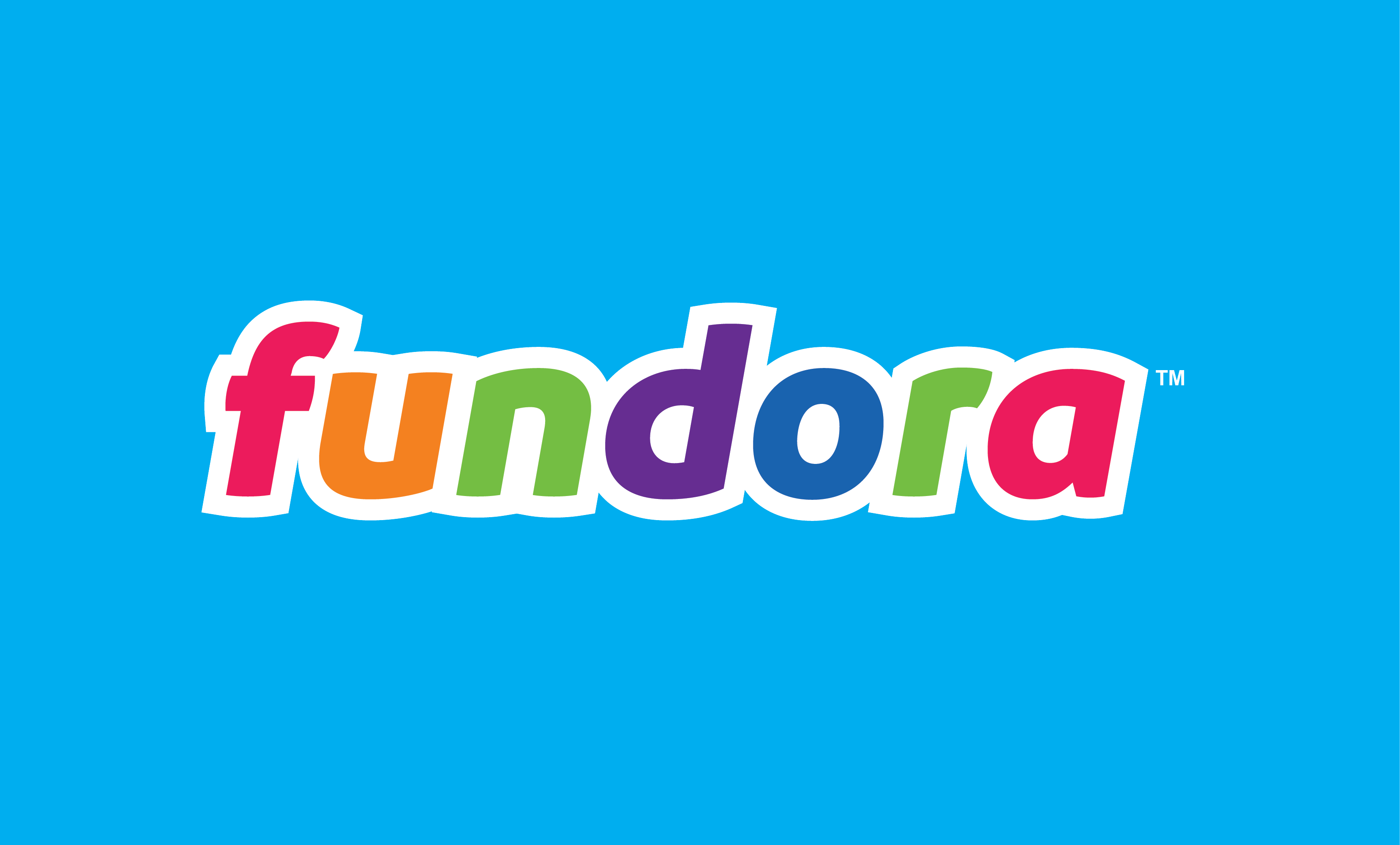Image of Fundora Logo for business name Fundora, which can be used for a toy, gaming or entertainment startup with Fundora.com