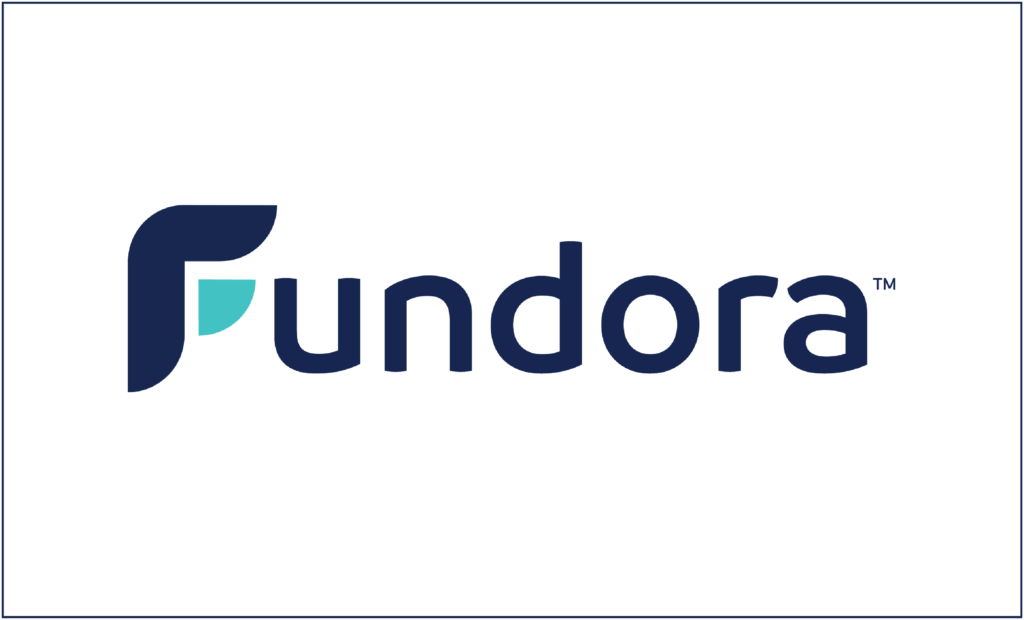Image of Fundora Logo for business name Fundora, which can be used for a fundraising startup with Fundora.com
